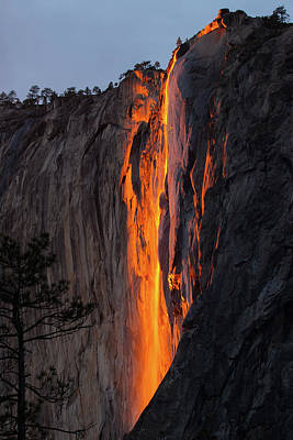 Photograph - Blazing Waterfall  by Duncan Selby