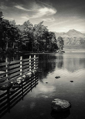 Langdale Photograph - Blea Tarn by Dave Bowman