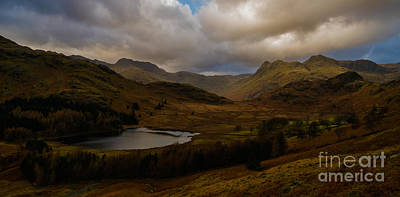 Photograph - Blea Tarn Winter Sunset by John Collier