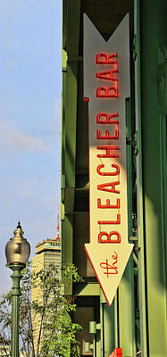 Photograph - Bleacher Bar - Fenway Park by Allen Beatty