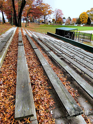 Photograph - Bleachers  by Janice Drew