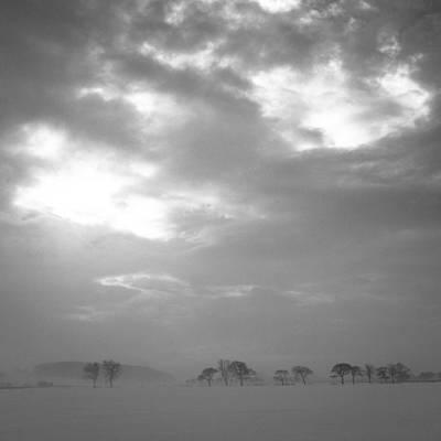 Winter Landscapes Photograph - Bleak Cold Winter by Chris Dale