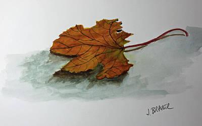 Painting - Bleak Future by Jack G Brauer