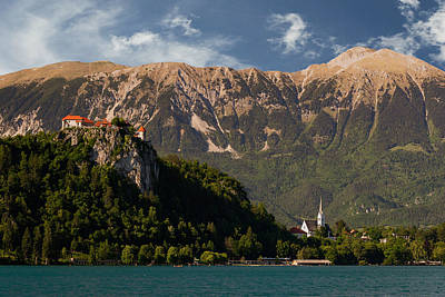 Bled Caste And St. Martin Church In Bled, Slovenia Art Print