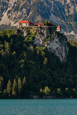 Bled Castle Above Lake Bled #2 Art Print