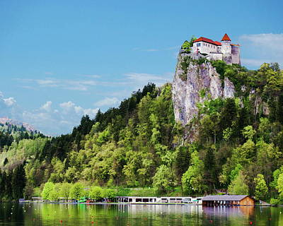 Photograph - Bled Castle by Anthony Dezenzio