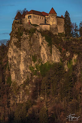 Photograph - Bled Castle Mountain by Francisco Gomez