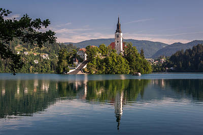 Slovenia Photograph - Bled by Davorin Mance