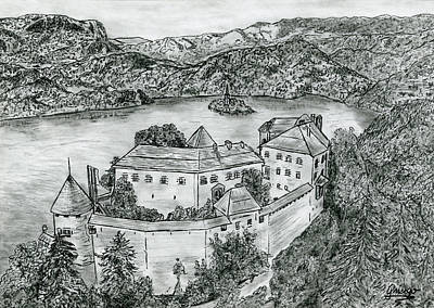 Bled Drawing - Bled by Gringo Artist