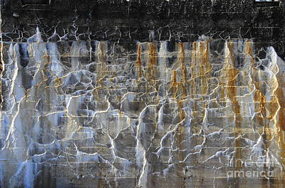 Photograph - Bleeding Concrete Two by David Arment