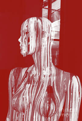 Photograph - Bleeding Mannequin by Fei Alexander