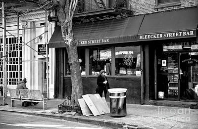 Photograph - Bleeker Street Bar by John Rizzuto