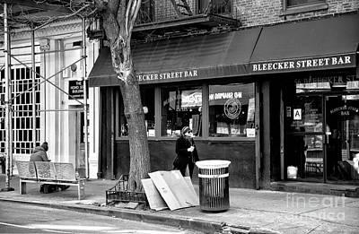 Photograph - Bleeker Street Bar by John Rizzuto