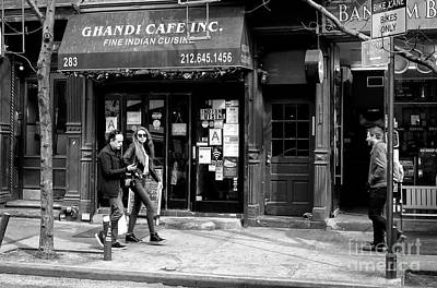 Photograph - Bleeker Street Walk by John Rizzuto