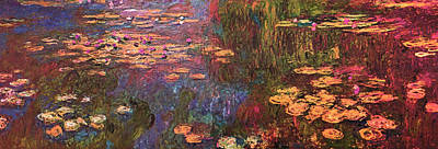 Digital Art - Blend 12 Monet by David Bridburg