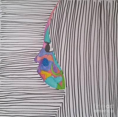 Blend Art Print by Roxane Gabriel