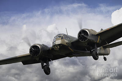 Royal Air Force Digital Art - Blenheim Approach by J Biggadike