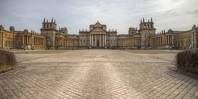 Blenheim Palace Art Print