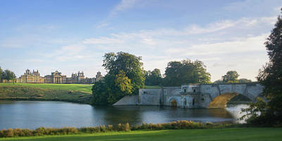 Photograph - Blenheim Palace by Joe Winkler