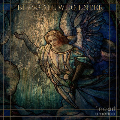 Photograph - Bless All Who Enter by David Arment