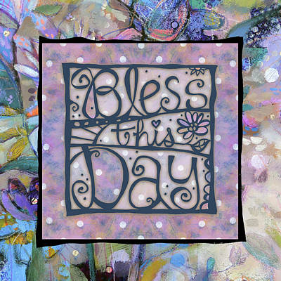 Painting - Bless This Day by Jen Norton