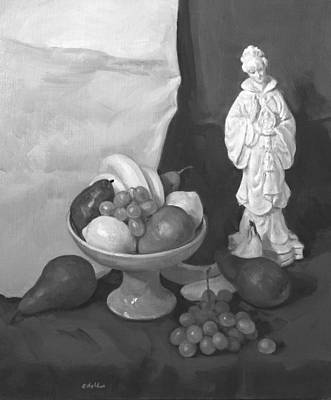 Painting - Bless This Fruit by Robert Holden