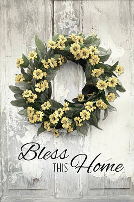 Photograph - Bless This Home 2 by Lori Deiter