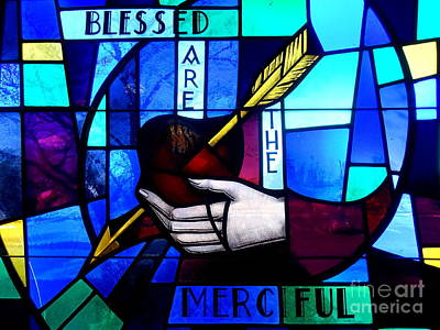 Photograph - Blessed Are The Merciful by Ed Weidman
