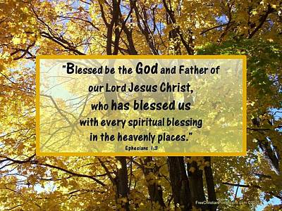 Photograph - Blessed Be God by Sonya Nancy Capling-Bacle