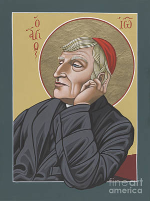 Painting - Blessed Cardinal John Henry Newman 221 by William Hart McNichols