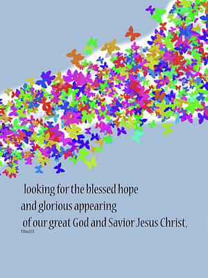 Blessed Hope Art Print by Kate Farrant