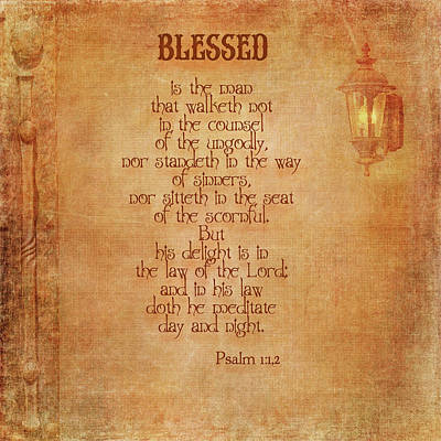 Photograph - Blessed by Larry Bishop