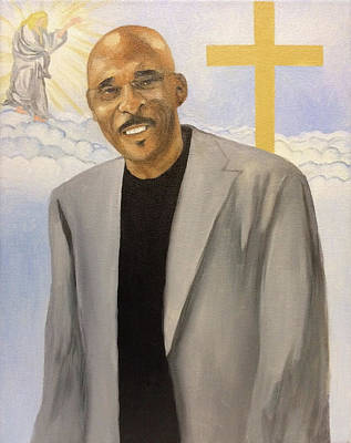 Painting - Blessed Leader by Angelo Thomas