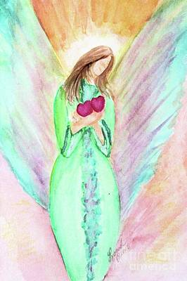 Painting - Blessing Angel by Lorah Tout