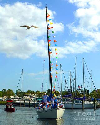 Photograph - Blessing Of The Fleet by Barbie Corbett-Newmin
