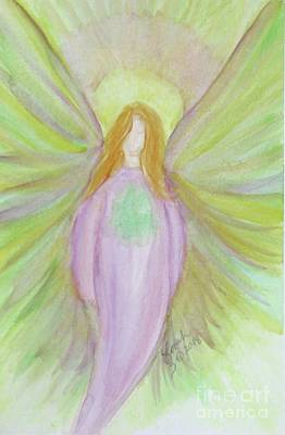 Painting - Blessings And Light by Lorah Tout