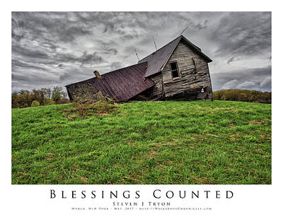 Blessings Counted Art Print by Steven Tryon
