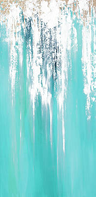 Painting - Blessings Flowing Like A Waterfall by Linda Bailey