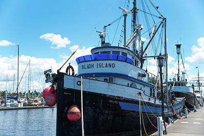 Photograph - Bligh Island Fishing Trawler by Tom Cochran