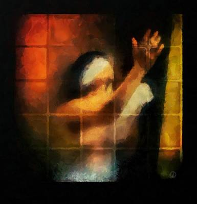 Sorrow Digital Art - Blind by Gun Legler