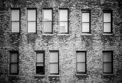 Photograph - Blind by Matthew Blum
