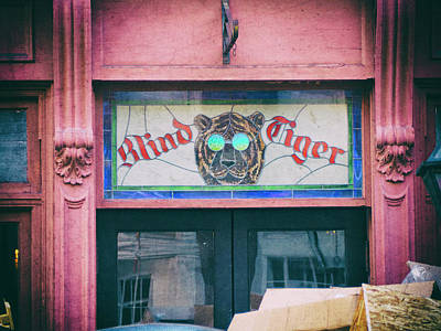 Photograph - Blind Tiger by Michael Colgate