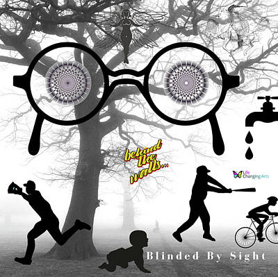 Digital Art - Blinded By Sight by Steven Brier