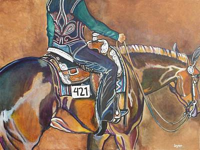 Painting - Bling My Ride by Stephanie Come-Ryker