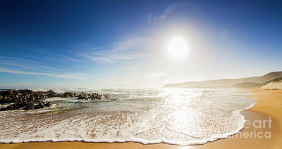 Trial Photograph - Blissful Ocean Panorama by Jorgo Photography - Wall Art Gallery