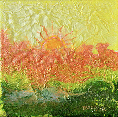 Painting - Blistering Summer by Donna Blackhall