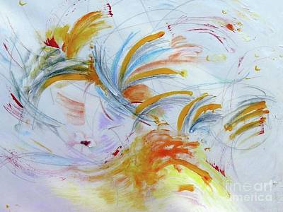 Painting - Blithe Sirit by Rosanne Licciardi