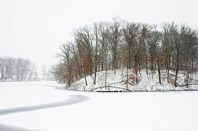Photograph - Blizzard Day by Randy Pollard
