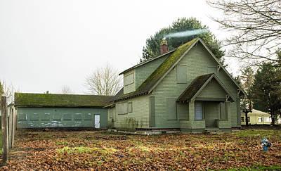 Photograph - Blnd Blaine House by Tom Cochran