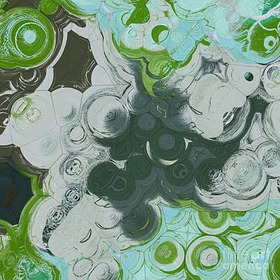 Digital Art - Blobs - 13c9b by Variance Collections